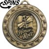 Spinner Honor Roll Medal Honor Roll Medals