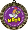 Colorful Math Medal Math Medals