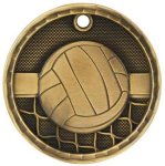 3D Volleyball  Medal 3D Medals