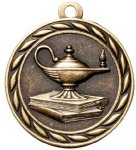 Scholastic Lamp Of Knowledge Medal Academic Medals