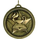 Value Lamp Of Knowledge Medal Academic Medals