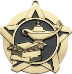 Super Star Knowledge Medal Academic Medals