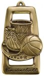 Star Blast Basketball Medal Basketball Medals