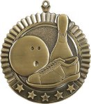 5 Star Bowling Medal Bowling Medals