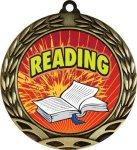 Colorful Reading Medal Colorful Insert Medals