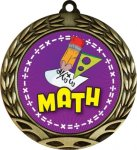 Colorful Math Medal Colorful Insert Medals