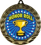 Colorful Honor Roll Medal Colorful Insert Medals