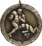 Wreath Football Medal Football Medals