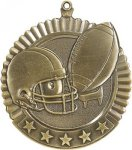 5 Star Football Medal Football Medals
