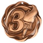Fusion 3rd Place Medal Fusion Medals