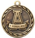 Scholastic A-Honor Roll Medal Honor Roll Medals