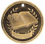 3D Honor Roll  Medal Honor Roll Medals