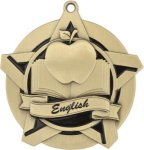 Super Star English Medal Language Arts Medals