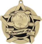 Super Star Language Arts Medal Language Arts Medals