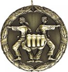 Wreath Martial Arts Medal Martial Arts Medals