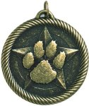 Value Paw Print Medal Mascot Medals