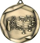 Ribbon Music Medal Music Medals