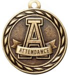Scholastic Attendance Medal Perfect Attendance Medals