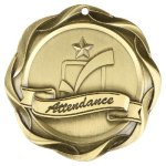 Fusion Attendance Medal Perfect Attendance Medals