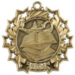 Ten Star Reading Medal Reading Medals