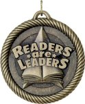 Value Readers Are Leaders Medal Reading Medals