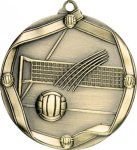 Ribbon Volleyball Medal Ribbon Medals