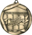 Ribbon Perfect Attendance  Medal Ribbon Medals