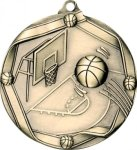 Ribbon Basketball Medal Ribbon Medals