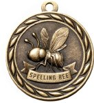Scholastic Spelling Bee Medal Scholastic Medals