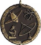 Wreath Science Medal Science Medals
