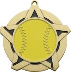 Super Star Softball Medal Softball Medals