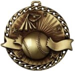 Burst Thru Baseball Medal Softball Medals