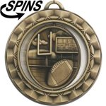 Spinner Football Medal Spinner Medals