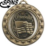 Spinner Citizenship Medal Spinner Medals