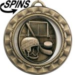 Spinner Hockey Medal Spinner Medals
