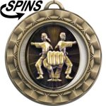 Spinner Martial Arts Medal Spinner Medals