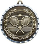 Diamond Cut Tennis Medal Tennis Medals