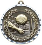 Diamond Cut Volleyball Medal Volleyball Medals