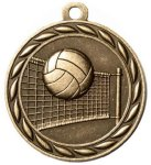 Scholastic Volleyball Medal Volleyball Medals