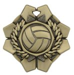 Imperial Volleyball Medal Volleyball Medals
