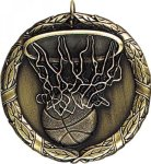 Wreath Basketball Medal Wreath Medals