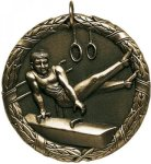 Wreath Male Gymnist Medal Wreath Medals