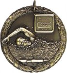 Wreath Swimming Medal Wreath Medals