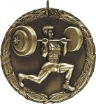 Wreath Weight Lifting Medal Wreath Medals